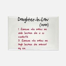 Daughter-in-law Rectangle Magnet