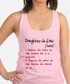 Daughter-in-law Racerback Tank Top