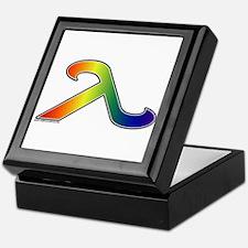Rainbow Lambda Keepsake Box