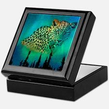 Sky Leopard Keepsake Box