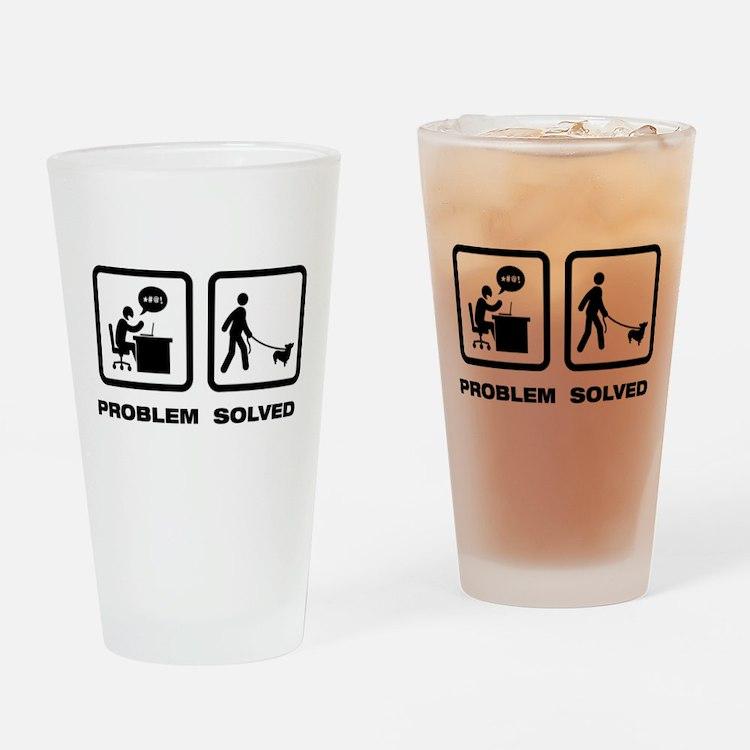 Pembroke Welsh Corgi Drinking Glass