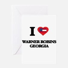 I love Warner Robins Georgia Greeting Cards