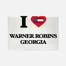 I love Warner Robins Georgia Magnets