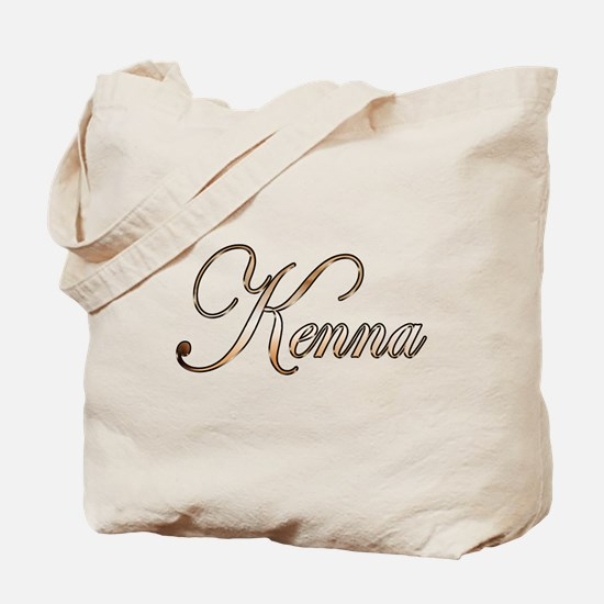 Gold Kenna Tote Bag