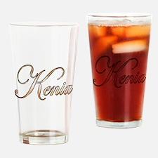 Gold Kenia Drinking Glass