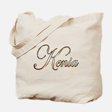 Gold Kenia Tote Bag
