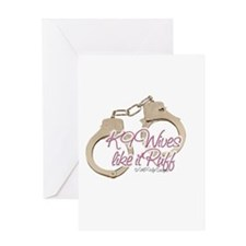 K9 Wives Greeting Card