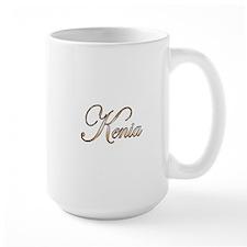 Gold Kenia Mug