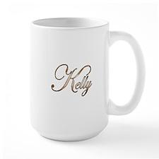 Gold Kelly Mug