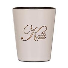 Gold Kelli Shot Glass