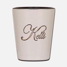 Gold Kelli Shot Glass