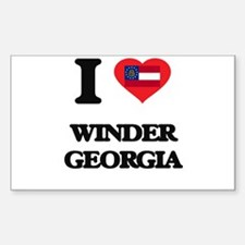 I love Winder Georgia Decal