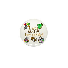 Candy Mini Button (10 pack)