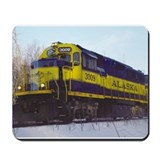 Railroad train Classic Mousepad