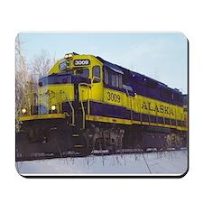 Alaska RR Railroad Locomotive Train Mousepad