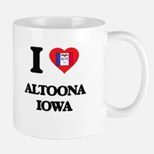 I love Altoona Iowa Mugs