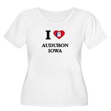I love Audubon Iowa Plus Size T-Shirt