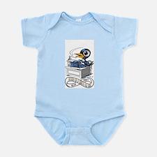 Bukbird by Tony Millionaire Infant Bodysuit