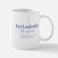 Ft Lauderdale Sailboat - Mug