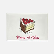 Piece of Cake Rectangle Magnet