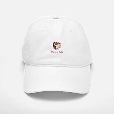 Piece of Cake Baseball Baseball Cap