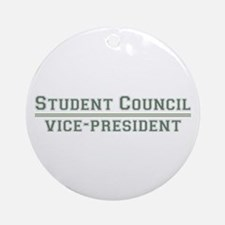 Student Council - Vice-President Ornament (Round)