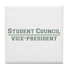 Student Council - Vice-President Tile Coaster