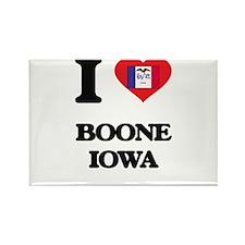 I love Boone Iowa Magnets