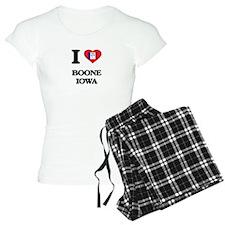 I love Boone Iowa pajamas