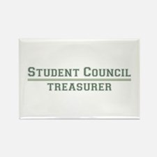 Student Council - Treasurer Rectangle Magnet