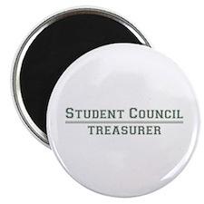 "Student Council - Treasurer 2.25"" Magnet (100 pack"