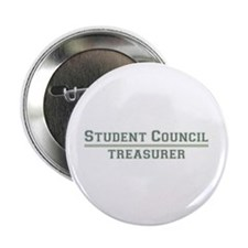 "Student Council - Treasurer 2.25"" Button (100 pack"