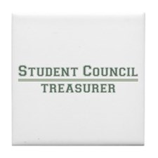Student Council - Treasurer Tile Coaster
