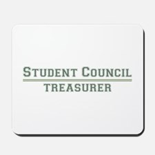 Student Council - Treasurer Mousepad