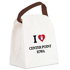 I love Center Point Iowa Canvas Lunch Bag