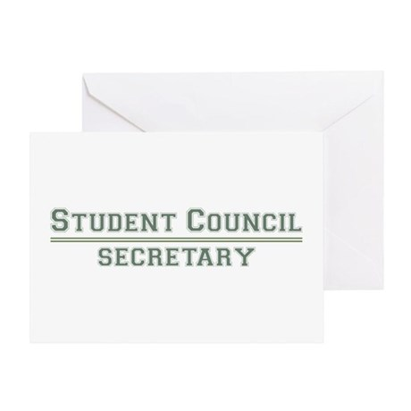 Student Council - Secretary Greeting Card