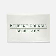 Student Council - Secretary Rectangle Magnet