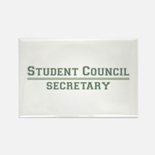Student Council - Secretary Rectangle Magnet (10 p
