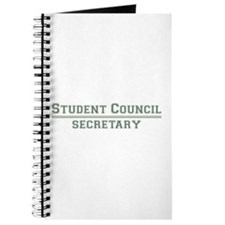 Student Council - Secretary Journal