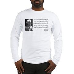 Mark Twain 8 Long Sleeve T-Shirt