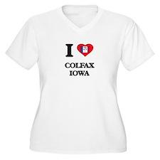 I love Colfax Iowa Plus Size T-Shirt