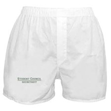 Student Council - Secretary Boxer Shorts