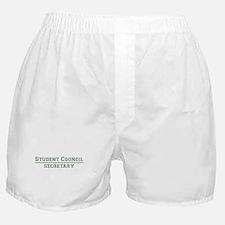Student Council - Secretary Boxer Shorts
