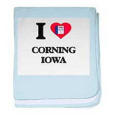 I love Corning Iowa baby blanket