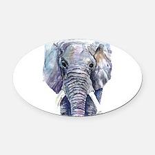elliet.png Oval Car Magnet