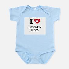 I love Denison Iowa Body Suit