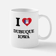 I love Dubuque Iowa Mugs