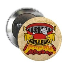 """King of the Grill 2.25"""" Button"""