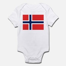Flag of Norway Infant Bodysuit
