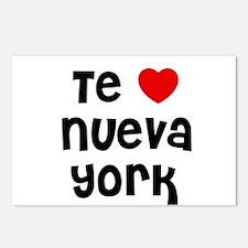 Te * Nueva York Postcards (Package of 8)